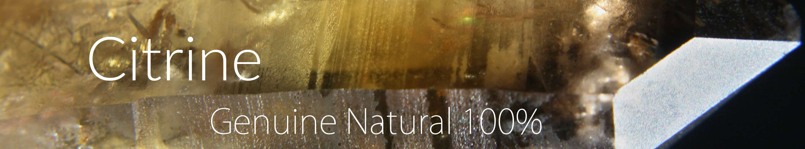 Genuine Natural Citrine Crystals