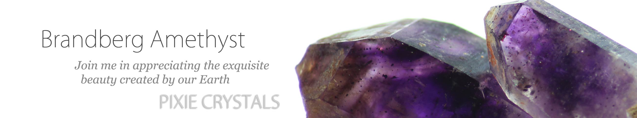 Brandberg Amethyst Twin with phantoms