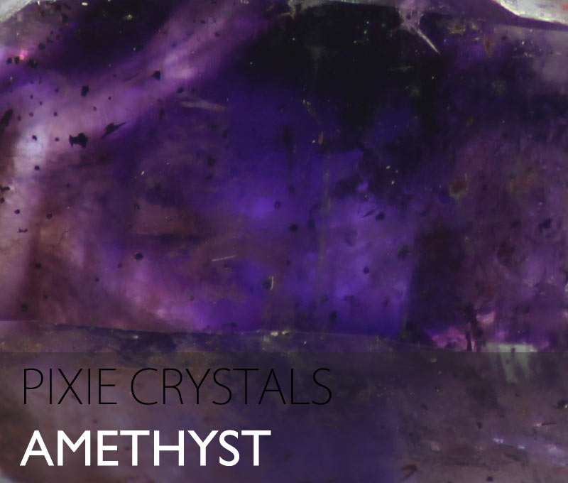 Amethyst crystals - natural Amethyst points