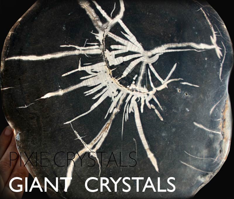 Huge crystals : Giant extra large crystals