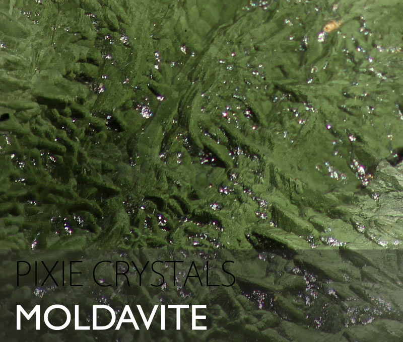 Moldavite Tecktite natural unpolished