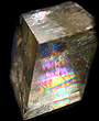 Light Optical Calcite with Rainbows