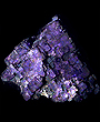 RARE Purple Fluorite Cubic Floater