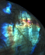 Golden And Blue Labradorite
