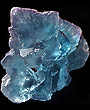 Huge Blue Purple La Viesca Fluorite