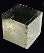 Precise Pyrite Natural Cube crystal