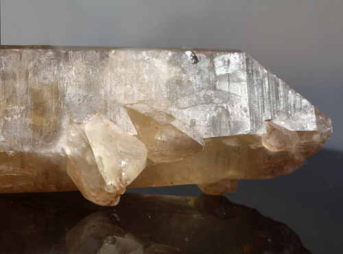 8 inch Totally Natural Citrine Crystal