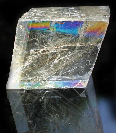 AAA Rainbow Calcite optical cleave