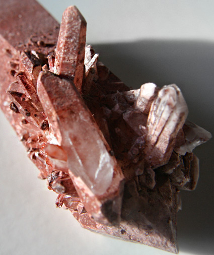Clear Quartz - Red Quartz WOW