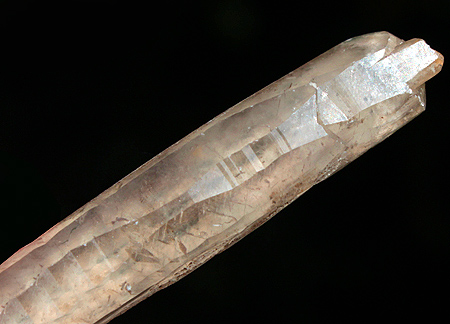 Double terminated Calcite point