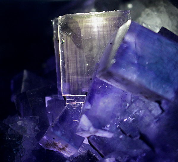 Enormous WOW Purple Fluorite Clear Quartz