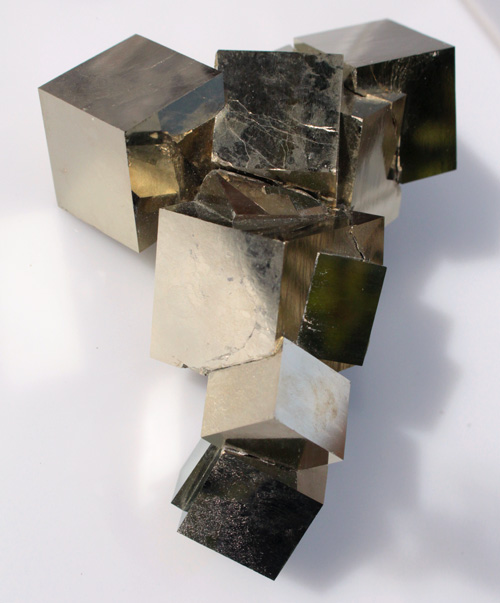Extra Large Pyrite Cluster