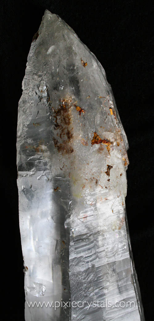 Huge Exceptional Laser Clear Quartz crystal