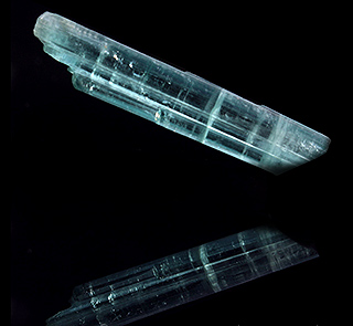 Indicolite Blue Tourmaline Crystal Point