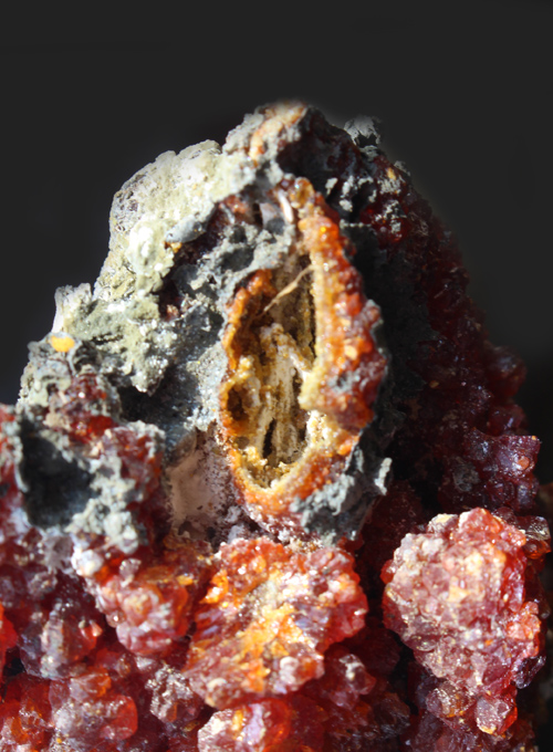 Large Red Zincite cluster