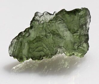 Moldavite natural crystal