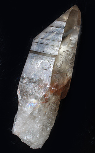 Pale Natural Citrine crystal point
