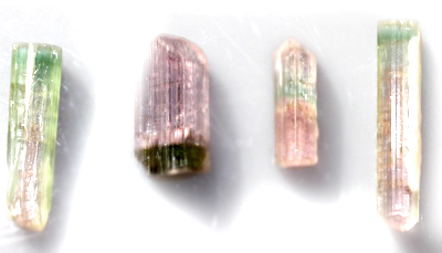 Pink and Blue Green Tourmaline