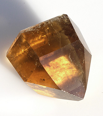 Polished Natural Citrine Crystal