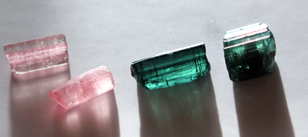 Small Gem Tourmaline Collection