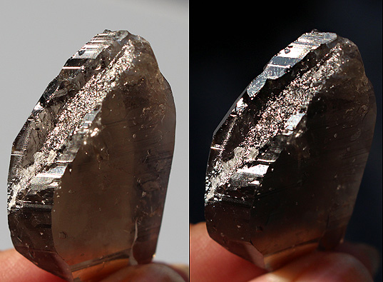 Smoky Quartz DT Elestial Crystal