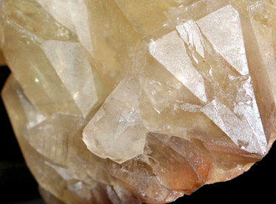 Stunning Citrine Point on cluster