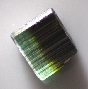 Tricolour Tourmaline Crystal