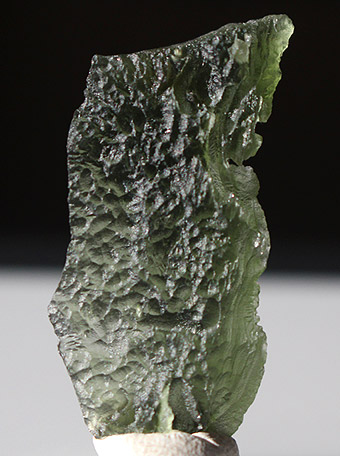 Unusual large Moldavite